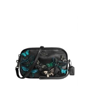 Authentic Coach Butterfly Applique Crossbody
